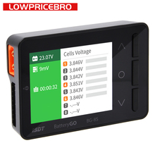 Isdt BG 8s battgo bateria inteligente para verificador balanceador receptor de sinal testador função carga rápida para modelos rc lipo carregamento