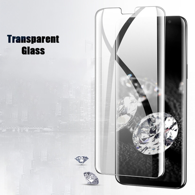 111D Tempered Glass For Samsung Galaxy S10 S9 S8 Plus S10e Screen Protector For Galaxy Note 8 9 10 Plus Glass Film 3