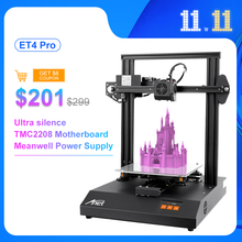Anet Impresora 3D ET4 Pro con Sensor de nivelación automática, alta precisión, Kit de bricolaje