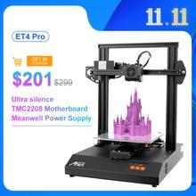 新しいanet ET4プロ3Dプリンタ自己オートレベリングセンサー高精度impresora 3D diyキットimprimante 3Dプリンタ
