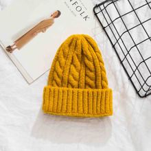 2019 Winter Hats For Women Beanies Girls Warm Kitted Skullies Solid Color Caps Ladies Bonnet