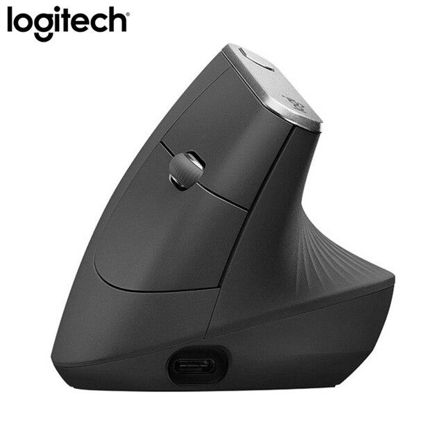 Logitech MX Vertical Bluetooth Mouse Wireless Ergonomic Mouse With Logitech FLOW 2.4GHz USB Nano 5