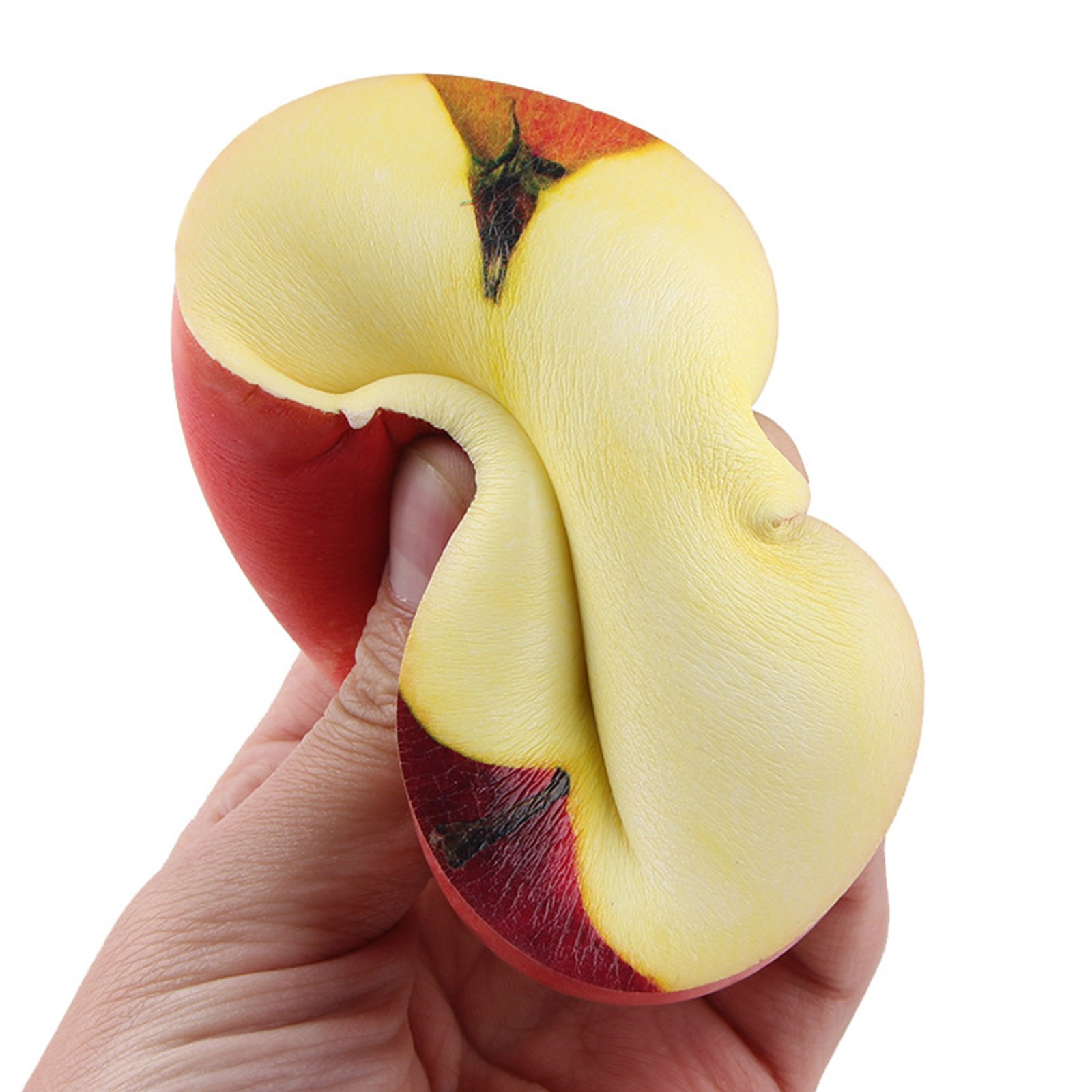 Toys Stress Fruit-Squeeze-Toy Gift Slow Rising Half-Fruit Creative Cute Food-Model Color-Printing img2
