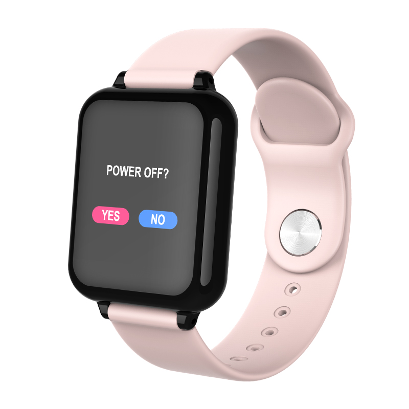 B57 Women Smart Watch Waterproof Sports for ios Android phone Smartwatch Heart Rate Monitor Blood Pressure Functions for men