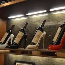 Инновационная Винная стойка на высоком каблуке для дома гостиной
