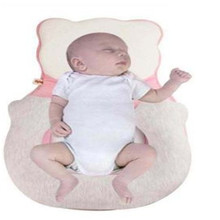 Baby Pillow Factory Wholesale Soft Comfortable Anti-eccentric Head Shaping Breathable and Sweat-absorbent Memory Foam Newborn