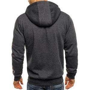 Image 5 - Jordan 23 Print Mens Hoodies Hot Sale Autumn Jacket Zipper Sweatshirt Hip Hop Fashion Streetwear Fitness Sport Outdoor Tracksuit