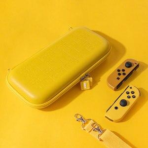 Image 5 - Funda de goma EVA portátil para Nintendo Switch, funda rígida, bolsa de transporte, bolsos cruzados, accesorios de almacenamiento