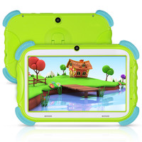tablet for kids 7 inch Android 8.1 16GB Babypad Edition PC with Wifi and Camera GMS Certified Supported Kids Proof Case