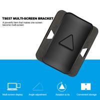 Podwójny Monitor klip stojak regulowany uchwyt ekranu Tablet do montażu na laptop telefon uchwyt do iPad/Samsung Tab/powierzchni na