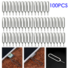 About 33 * 8mm 100pcs Eject Sim Card Tray Open Pin Needle Key Tool For Universal Mobile Phone For Samsung S8 S9 S6