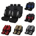 Чехлы автомобильные для сидений универсальные AUTOYOUTH, 9 предметов, повышенный комфорт, Полиэстер,поролоном толщиной 2 мм