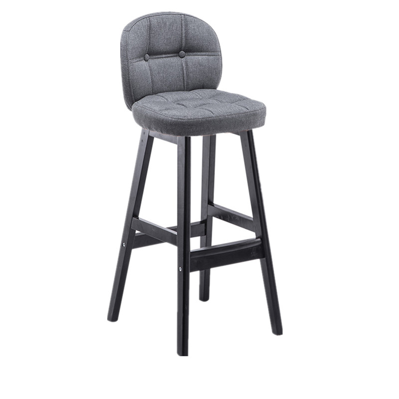 Bar Stools Solid Wood High  Bar Tables And Chairs Home Creative   Front    Nordic
