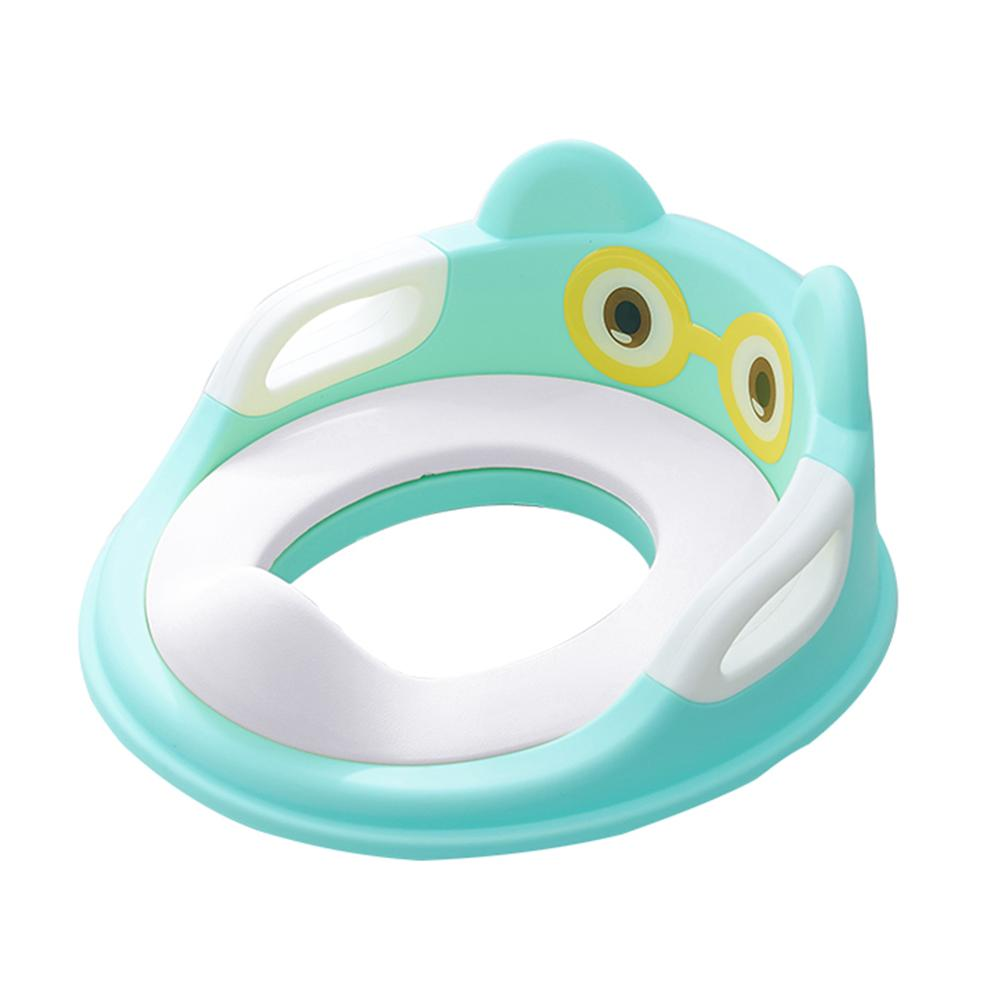 Baby Toilet Potty Training Safe Seat for Kid with Armrests Infant Urinal Cushion Comfortable Toilet Large Size Ring Infant Potty | Happy Baby Mama