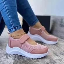 Summer Women Casual Shoes Sneakers Women Shoes 2021 Mesh Breathable Platform Chaussure Femme Non SlipWomen Vulcanize Shoes