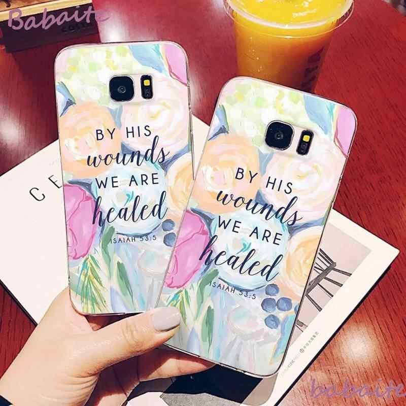 Babaite Pink Letters Love Pink DIY Luxury Phone Case for Samsung J2PRO J4 2018 J415 4PLUS 5 2016 5PRIME 6 2018 600 7 737 6PLUS