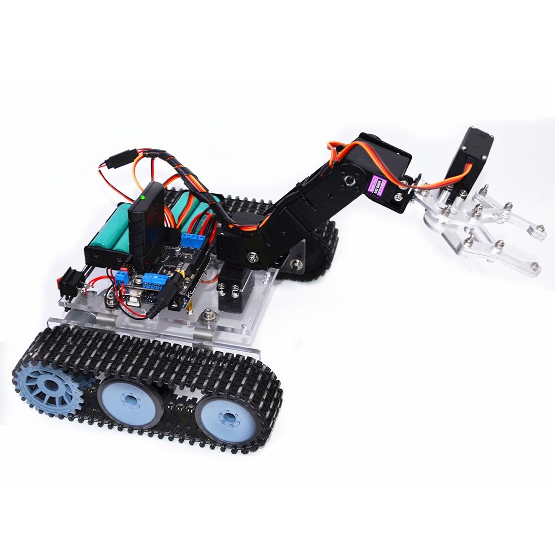 braço mecânico robô kit (sem bateria) modelo