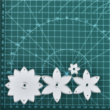 Eastshape Flower Metal Cutting Dies for Scrapbooking Embossing Cut Stencils Cards Craft