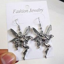 FDLK – boucles d'oreilles pendantes Vintage pour femmes, bijoux, cadeau, accessoires gothiques non définis pour lesbiennes