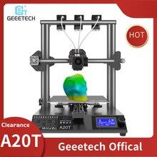 Geeetech A20T 3D Printer 3 In 1 Out Gemengde Eigendom Upgrade GT2560 V4.0 Controlboard Open Source 250*250*250Mm LCD2004 Fdm Ce