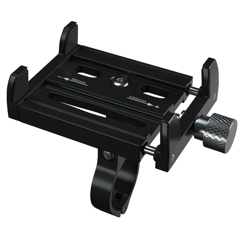 Aluminum <font><b>Bicycle</b></font> Phone <font><b>Holder</b></font> For <font><b>Smartphone</b></font> Adjustable Support GPS Bike Phone Stand Mount Bracket Bike Accessories image