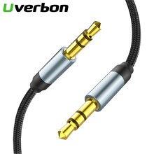 Náilon 3.5mm aux macho-to-masculino cabo de áudio trançado cabo telefone do carro fone de ouvido cabo de áudio fone de ouvido mp3 aux cabo de extensão