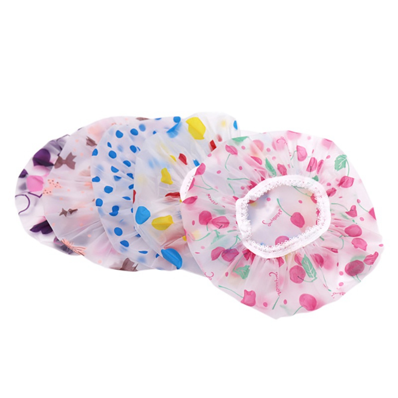 Baby Shower Caps Shampoo Cap Wash Hair Kids Waterproof Elastic Shower Bathing Bath Salon Hair Children Hats Accessories