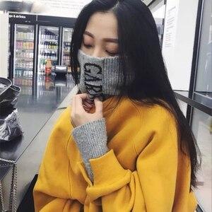 Image 4 - Sudaderas con capucha para mujer, suéter grueso de terciopelo, cálido, de manga larga, cuello alto, holgado, sencillo, para estudiantes, combina con todo, Harajuku, Chic