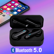 CALETOP F9 TWS Bluetooth 5.0 Wireless Earphone Sport Earbuds with Microphone Hifi Stereo Sound 300mAh Charging Case for iPhone
