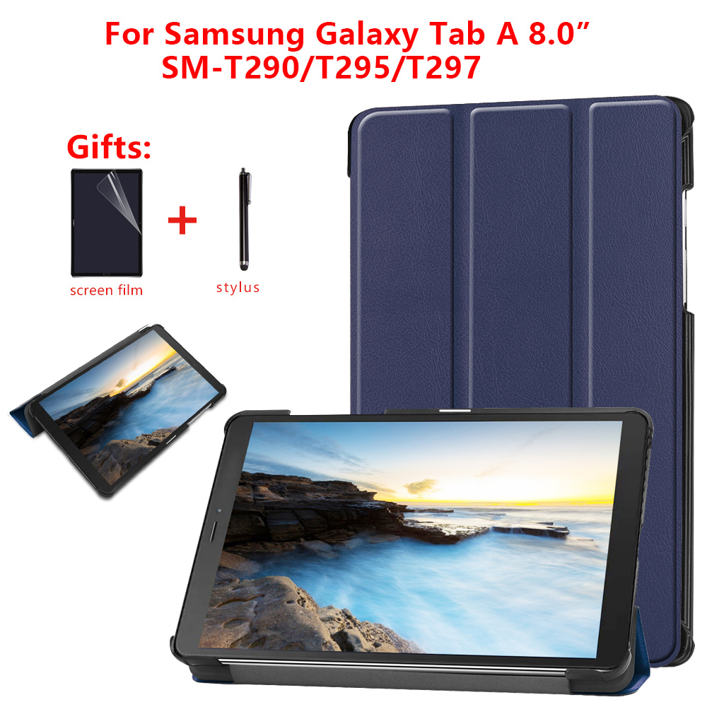 Case For Samsung Galaxy Tab A 8.0 2019 Case For Samsung Galaxy Tab A 8.0 2019 SM T295 T290 T297 Magnetic Cover Funda+gifts