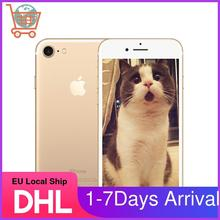 Европейский местный корабль Apple iPhone 7 4G LTE смартфон 32/128GB/256GB IOS 12.0MP камера четырехъядерный отпечаток пальца 12MP камера Apple Phone