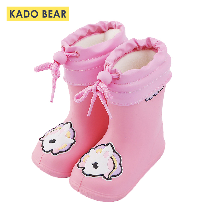 Unicorn Cartoon Baby Girl Rain Boots Kids Boy Dinosaur Cute Water Shoes Children Rainproof Coat Toddler Windproof Hooded Jackets