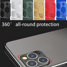2pcs/set phone Lens Protector Ring Plating Aluminum For iPhone 11 Pro Max Camera Lens Protection Ring Cover For iPhone11 11 Pro