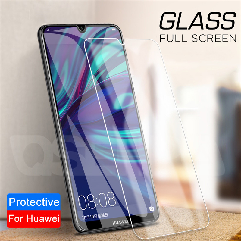 9D Tempered Glass For Huawei Y5 Lite Y5 Y6 Y7 Y9 2019 Screen Protector On Huawei Y7 Y5 Y6 Y9 Prime 2018 Protective Glass Film