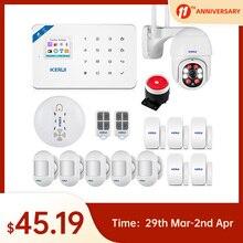 Alarm-System Burglar-Alarm-Kit Security W18 KERUI Connection GSM WIFI Wireless APP Ce