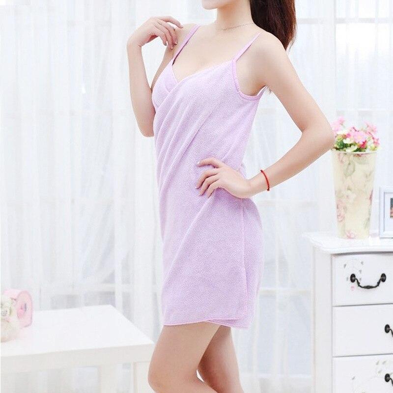 New Women Robes Bath Wearable Towel Dress Womens Lady Fast Drying Beach Spa Magical Nightwear Sleeping