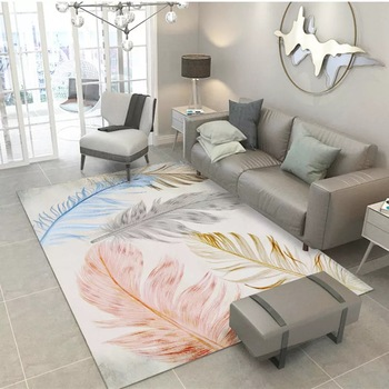 Alfombra moderna de Tapis Salon Chambre para el hogar Alfombra estampada 3D...
