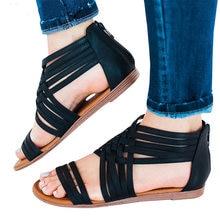 Женские босоножки; красивые модные сандалии-гладиаторы для женщин; Летняя обувь; женская обувь на танкетке; Sandalias Mujer; женская повседневная обувь; большие размеры