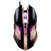 T03 Ergonomic Wired Gaming Mouse Mice with 4800DPI Adjustable High Precision 8 Button LED Optical for Laptop PC Computer Gamer(China)