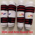 1 par shin/braço guarda para kick boxe mma karatê taekwondo sanda luta equipamentos de proteção muay thai protetor shin braço guardas