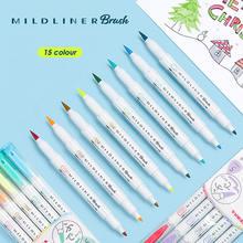 Маркеры для рисования zebra mildliner с двойной головкой ручка