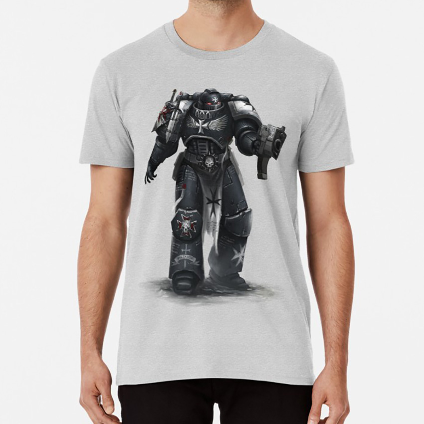 Warhammerr 40k Black Templars T Shirt Long Sleeve Sweatshirt Hoodie for Men and Women