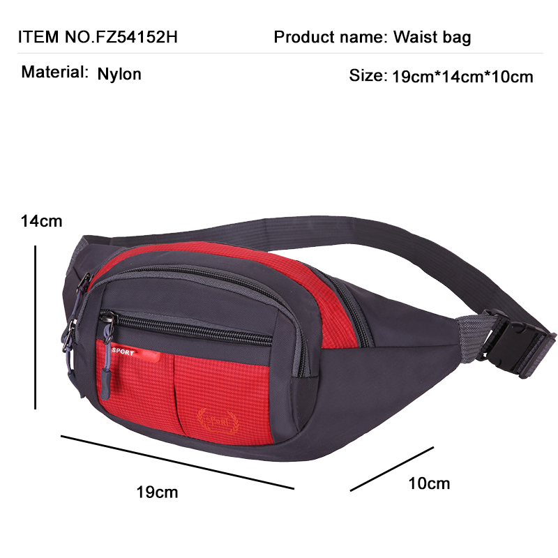 Lady Men Running Waist Bags Sports Pack Cycling Bag Belt Fanny Waist Pouch Outdoor Travel Racing Hiking Gym Fitness Money Purse