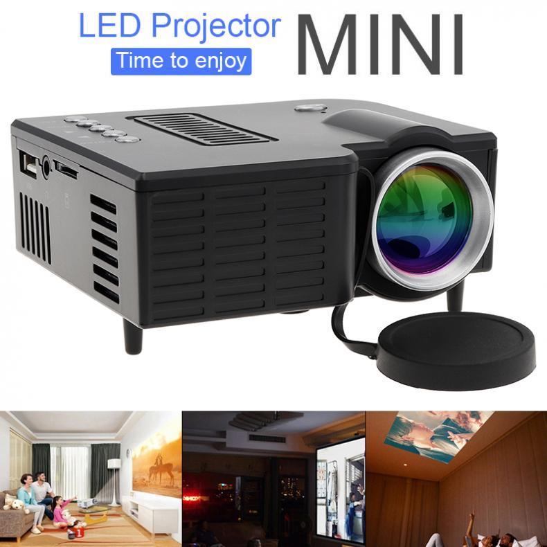 UC28B домашний проектор Мини Портативный Поддержка 1080P HD светодиодный медиа-проигрыватель для домашнего кинотеатра Развлечения