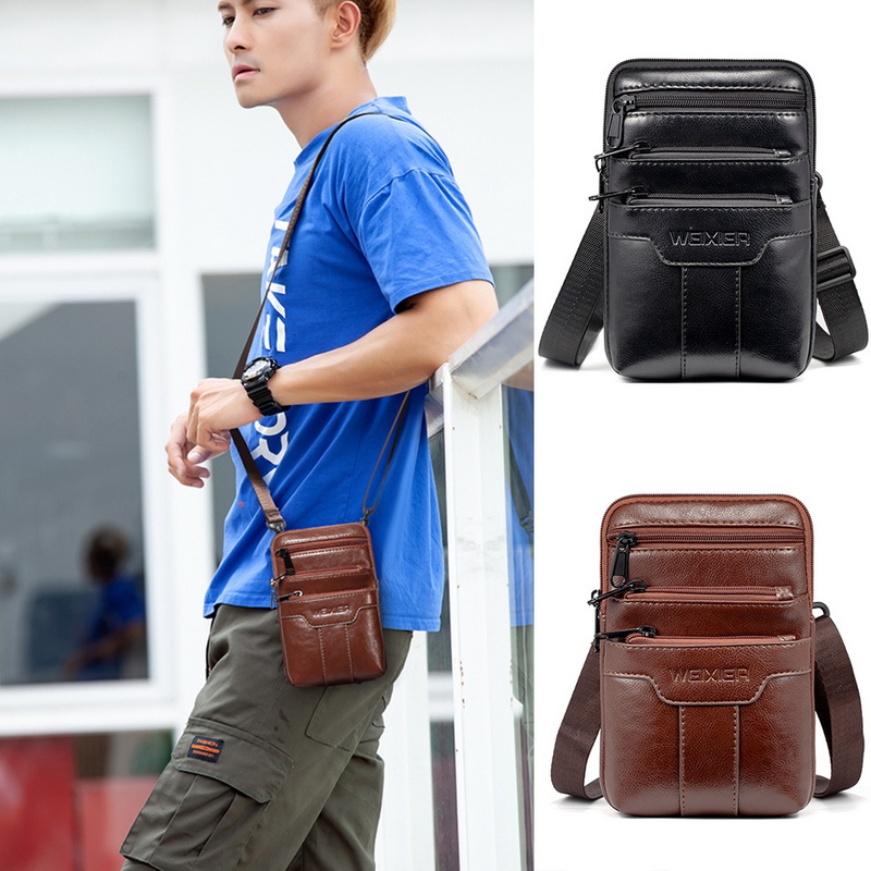 Men's Handbag Crossbody Bags Single Shoulder Bag Waist Bag Small Straddle Bag Sports And Leisure Shopping Bag