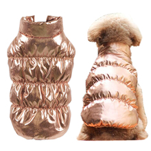 Ciepłe ubrania dla psów zimowe polary wewnątrz buldog kamizelka dla zwierząt strój dla szczeniąt kurtki dla psów wiatroszczelne 8 kolorowe ubrania dla średnich duże psy tanie tanio Petalk CN (pochodzenie) Poliester Jesień zima Stałe