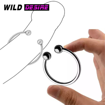 New Sex Tools For Men Male Stainless Steel Cock Ring Metal Penis Sleeve Cockring Sex Toy Male Sex Products Couples Chastity Belt