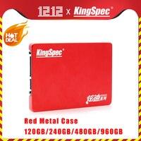 """Nouveau KingSpec HDD 2.5 """"SATA SSD 120GB 240GB SSD 480GB 960GB SATAIII disque dur Disco disque dur interne Duro pour ordinateur portable tablette de bureau"""