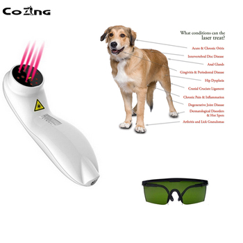 Laser For Physiotherapy 650nm Cold Laser Therapy Device For Cat Dog Horse Wound Pain Home Use