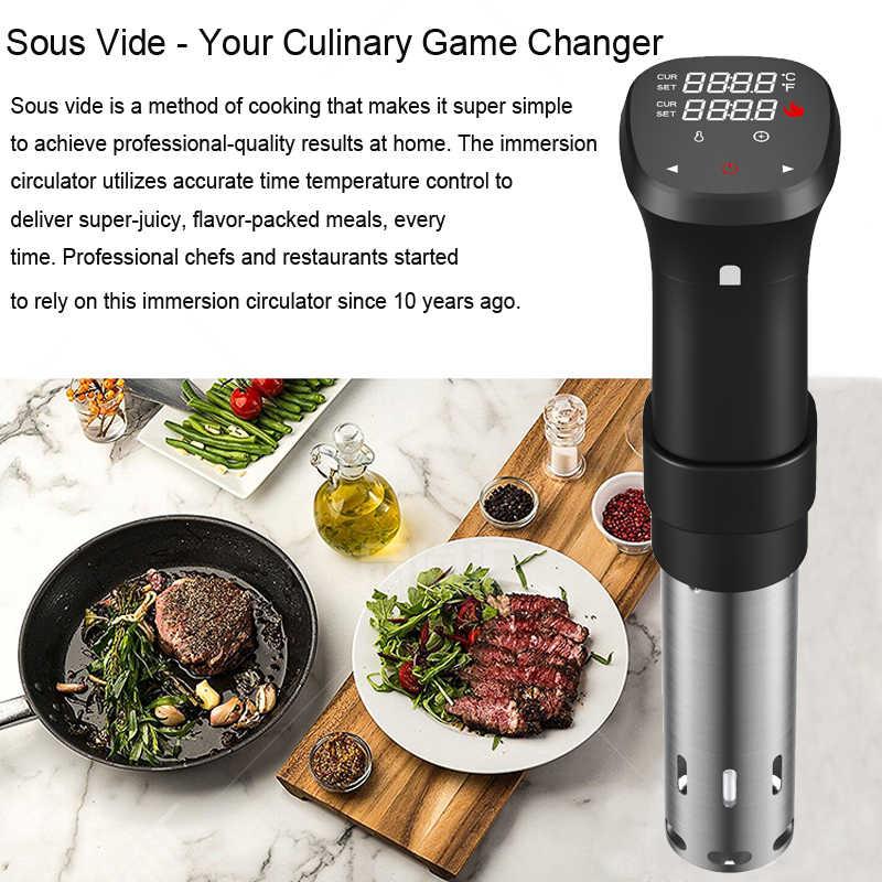 Próżniowe urządzenie do gotowania żywności Sous Vide urządzenie do gotowania wytrzymały cyrkulator zanurzeniowy